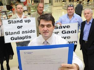 Jail petition at Grafton Shoppingworld