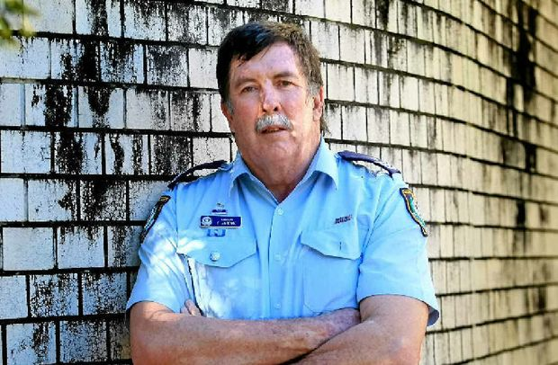 Sergeant Garry Jardine of Tweed Police is looking forward to a bittersweet end to his career. Photo: John Gass / Daily News