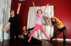 Heartbeat dance group - (L to R) Kayah Guenther, Zahra Smith, Aisha Smith, Maitreyah Guenther.