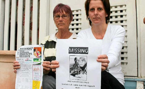 Gail Lynch's sister Lyn McMillan and niece Jas McLaren are trying to find the missing woman.