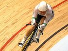 Anna Meares rides her way to a world record in the women's 500m time trial in Melbourne in 2012.