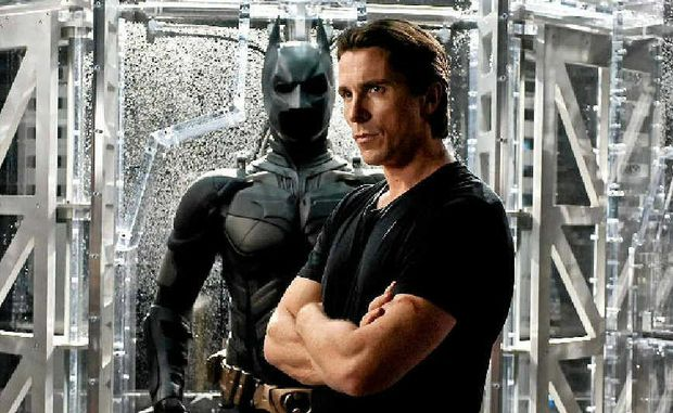 Christian Bale takes his role in The Dark Knight Rises to new heights.