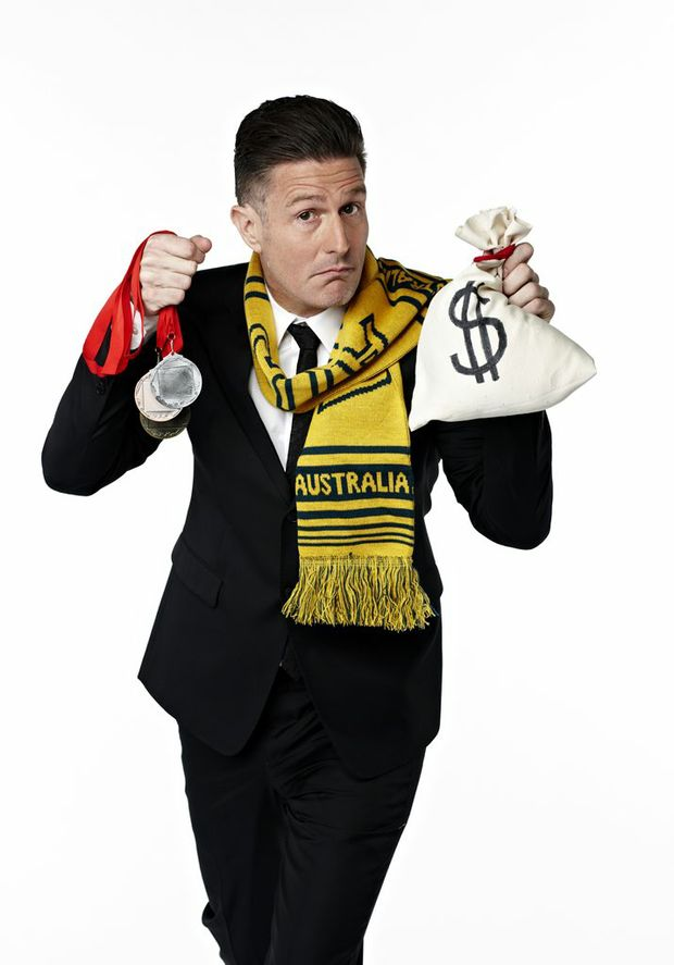 The Gruen Transfer host Wil Anderson hosts the Olympics special Gruen Sweat.