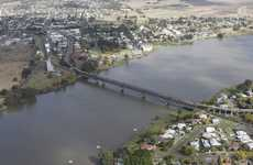 July 2012 Grafton aerials Photo Adam Hourigan / The Daily Examiner