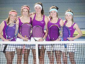 Grafton High tennis win