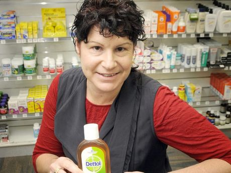 Most trusted products we buy, Dettol has rated number 1. Toowoomba 7 Day Pharmacy manager Colleen Barham.