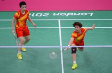 Yang Yu (L) and Xiaoli Wang (R) have been embroiled in the controversy which has hit the badminton courts.