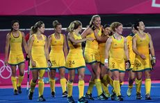 The Hockeyroos have beaten China 2-0.