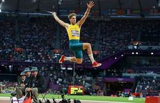 Henry Frayne jumped 7.95 metres.