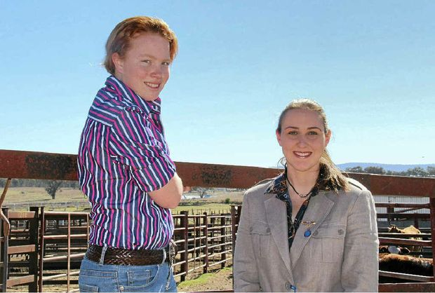 Rachael Whitton and Emma Thompson are off to judge at the Ekka.