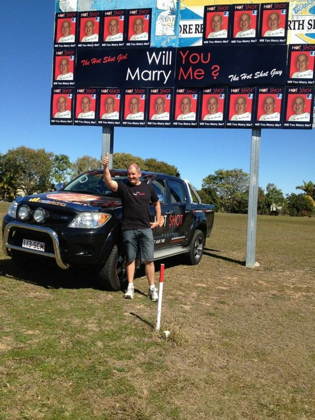 Would you be bold enough to pull off a public marriage proposal, like Myles Symons?