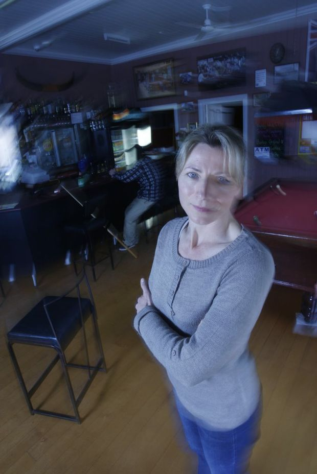 Harrisville's Royal Hotel manager Monika Patrick will have Paranormal Paratek QLD surveying the pub for paranormal activity on Sunday. The pub is known for being haunted but has not yet been properly tested for signs of activity.