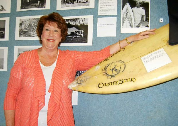 Laura O'Brien, of the Port of Yamba Historical Society.