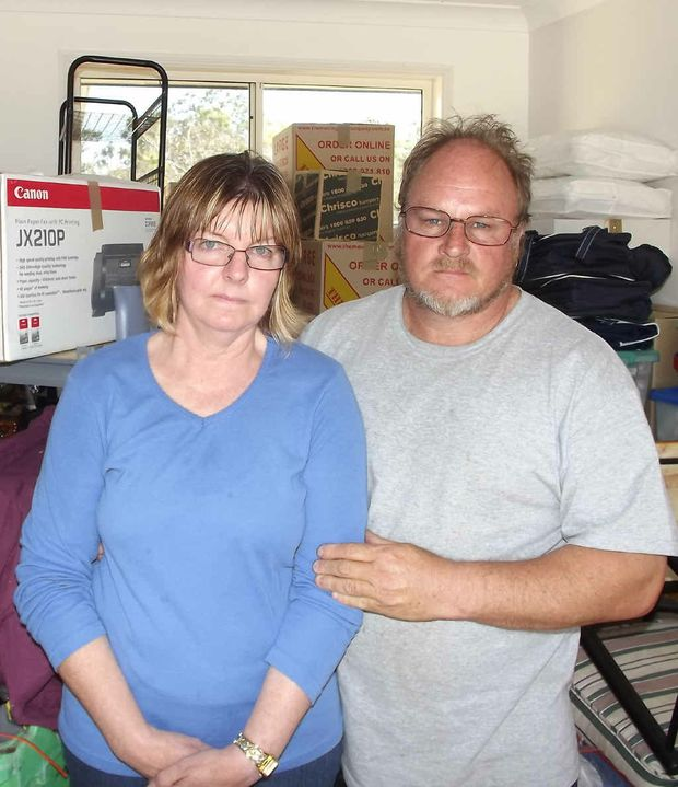 Deanne and Gary Sturdy have no choice but to pack up and go.