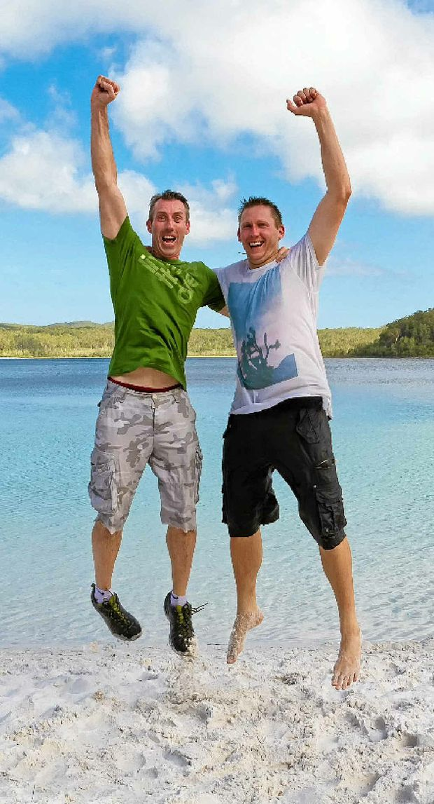 Amazing Race champs Shane Haw and Andrew Thoday plan to take their families to a few of the international destinations they visited after winning $250,000.