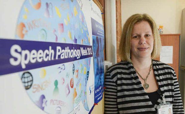 Grafton Community Health senior speech pathologist Michelle Bennett.