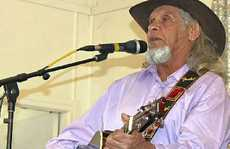 Harold Harrison, the late Jimmy Little's cousin, who is new in town, wasted no time joining up to the Warwick and District Country Music Club.