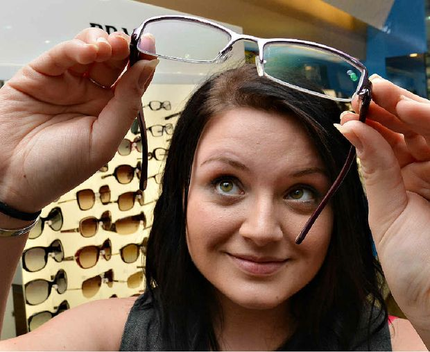 Phoebe King, of OPSM, says that when it comes to choosing glasses there's something to suit everyone's budget.