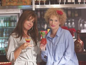 Kath and Kim from the iconic Aussie TV series.