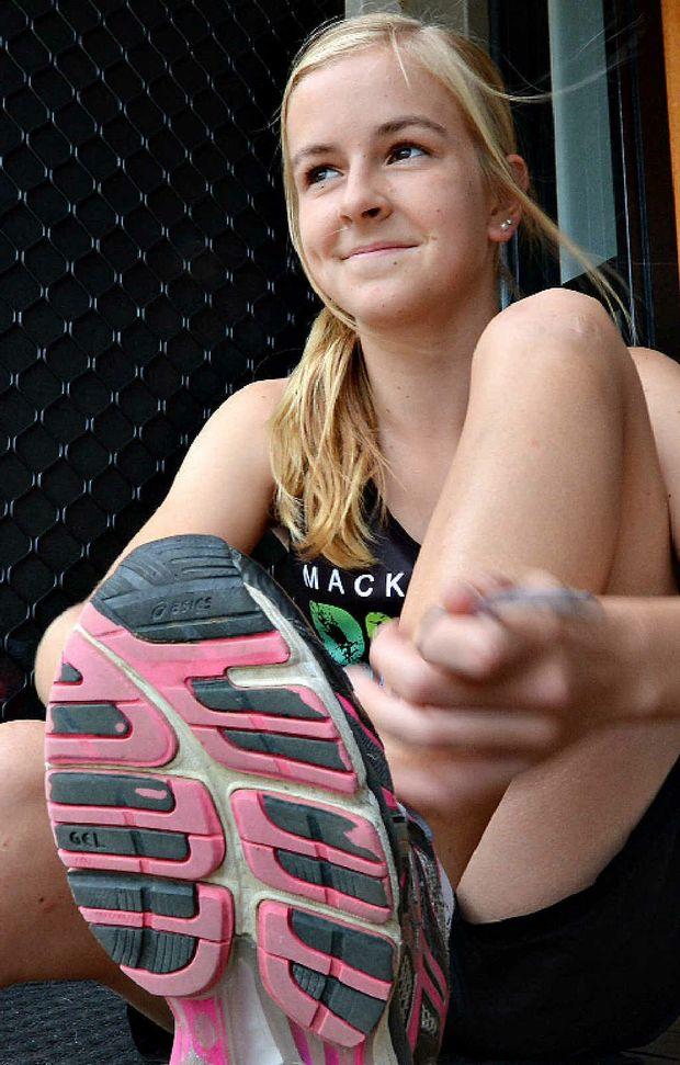 Mackay youngster Nixon Rodden won the Mackay Road Runners' inaugural Benita Willis 10km run.