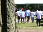 Hundreds of refugees hunger strike on Nauru
