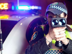 Police clock driver at 200kmh on Christmas Day