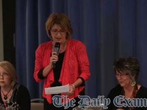 Sue Hughes meet the candidates