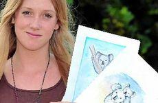 Chloe Bland has done a school project on saving koalas.