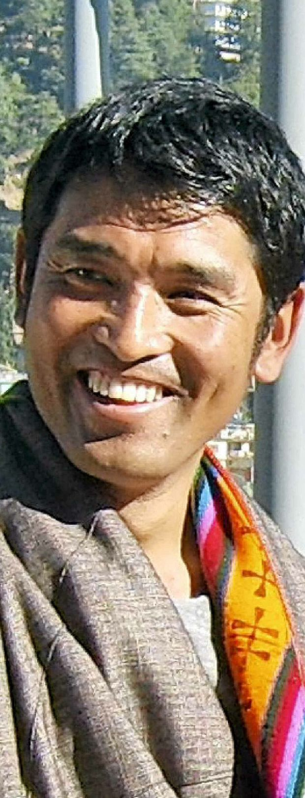 SEEKING FREEDOM: Lhamo Kyab has made a film of his life under the Chinese occupation of Tibet.