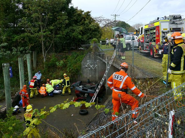 A teenager has died following a serious crash in Coffs Harbour's Robin St on Sunday.