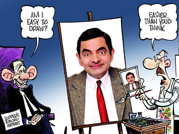 Peter Broelman's cartoon has captured Australian sentiment about plans for a Peter Slipper portrait.
