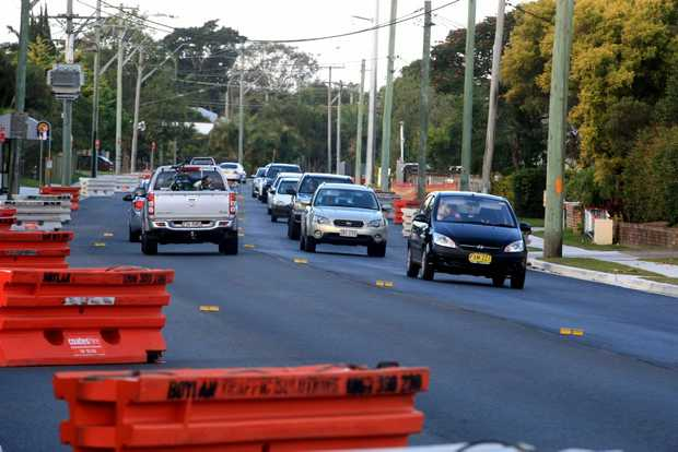 Kennedy Drive, Tweed Heads west. Photo: John Gass / Daily News