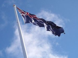 What should we do with worn-out Aussie flags?