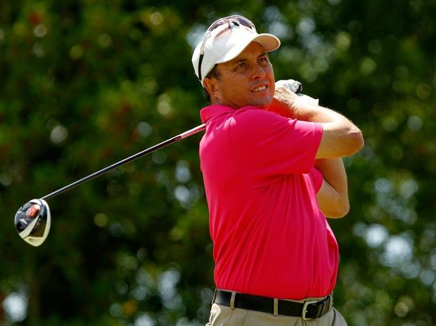Scott Gardiner, playing in Raleigh, North Carolina, earlier this year, has finally scored a spot on the US PGA tour.