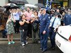 Emotional farewell for Queensland's top cop Bob Atkinson