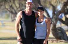 Billy Moore and his wife are set to compete in the New York Marathon.