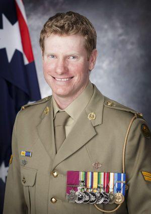 Victoria Cross recipient Corporal Daniel Keighran, VC