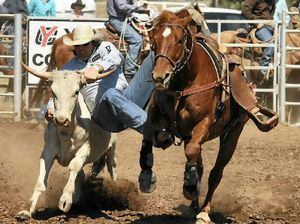 Frain holds a narrow lead as the number one all-round cowboy