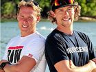 Bondi Rescue heroes keep the 'wimpy card' handy for Tri