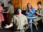 Ipswich Musical Theatre Company production of 'Songs That Won the War' at the Old Courthouse. Performers from left, Tahlya Grennar, Jacob Olsen, Simon Drew (front), Nardine Ledger, and Ryan Richards. Photo: David Nielsen / The Queensland Times