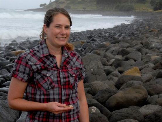 Southern Cross University's Dr Kirsten Benkendorff investigating the medicinal properties of a family of sea snails.