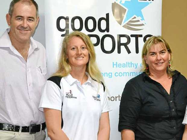 The Australian Drug Foundation's Good Sports initiative is making a sporting day out safer and more interesting. Photo: Fellan Pardoe