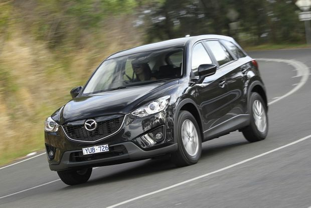 Mazda's turbo-diesel CX-5 in Maxx trim.