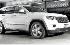 The Jeep Grand Cherokee.