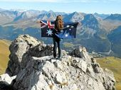JESSIE Gretener was only seven when she first told her parents she wanted to travel the world.