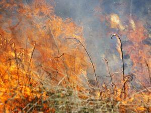 Bushfire on Bribie Island