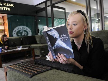 Jamila Verdouw in Mary Ryan Bookshop.