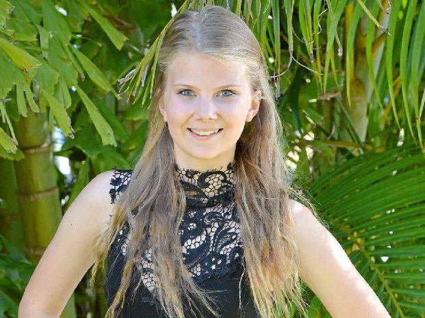 FACE OF SUCCESS: High School senior Look Book winner Jessica Harm.