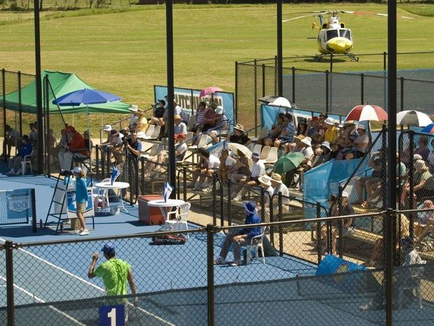 Toowoomba Tigers will be in action tonight at the Tooowoomba Regional Tennis Centre.