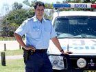 Tony Atkins of Kingscliff Police on the job. Photo: Blainey Woodham / Daily News